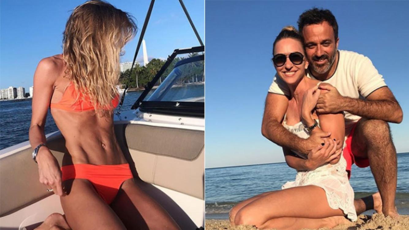 Andrea Bursten y sus días de amor con su novio en Miami