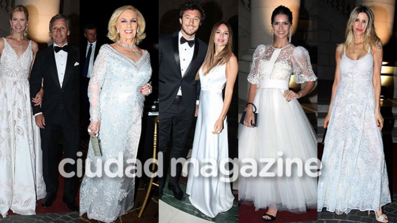 Los famosos invitados a la gala solidaria de Valeria Mazza (Fotos: Movilpress).
