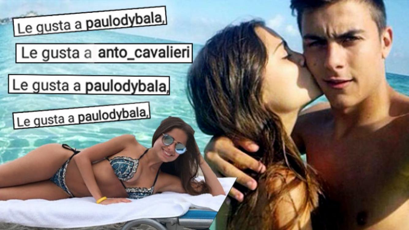 ¿Reconciliación? Paulo Dybala y los gestos buena onda con su exnovia modelo en las redes sociales.