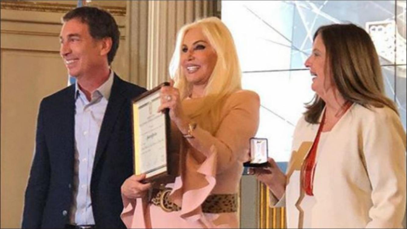 Susana, distinguida por la Legislatura: Hoy tuve el honor de ser nombrada Ciudadana Ilustre