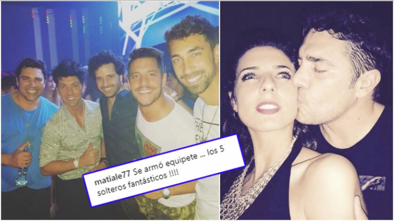 La salida con amigos de Matías Alé a una semana de confirmar su separación de Tamara Bella: Se armó equipete......