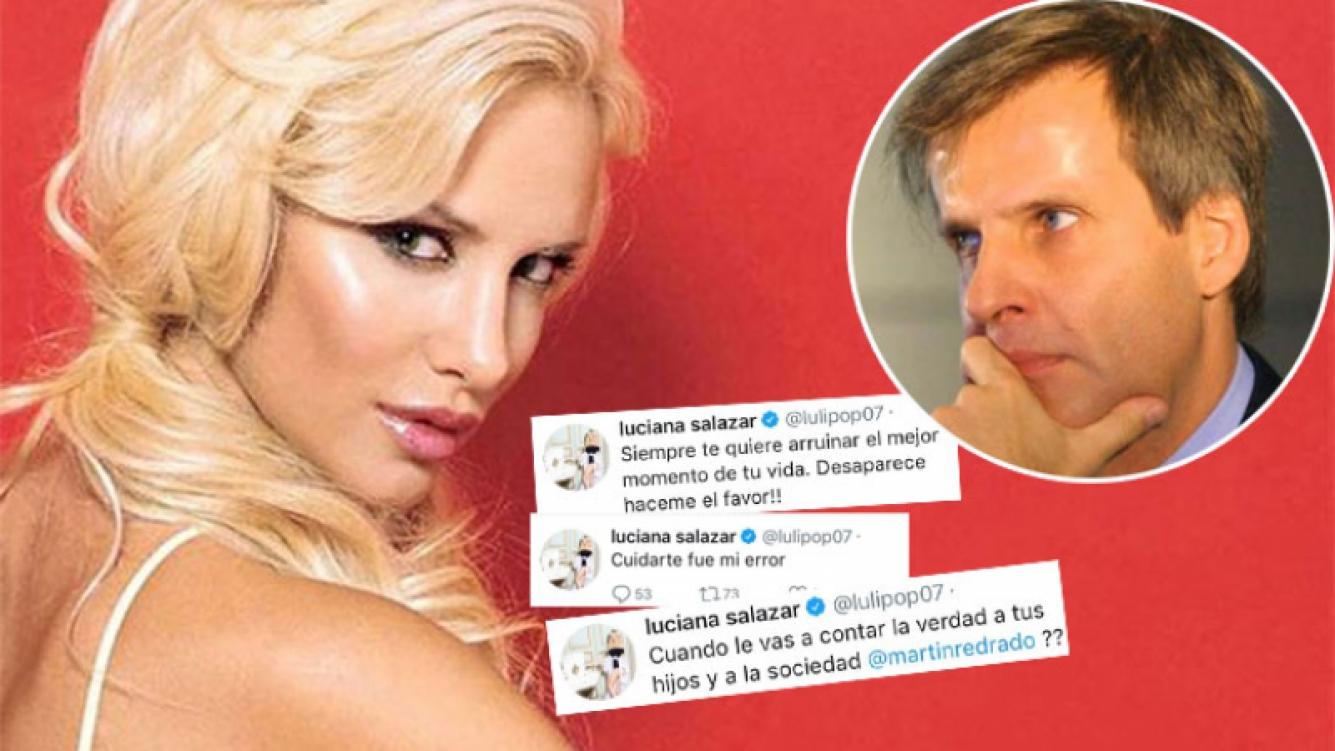 Escandalosos tweets de Luciana Salazar contra Redrado