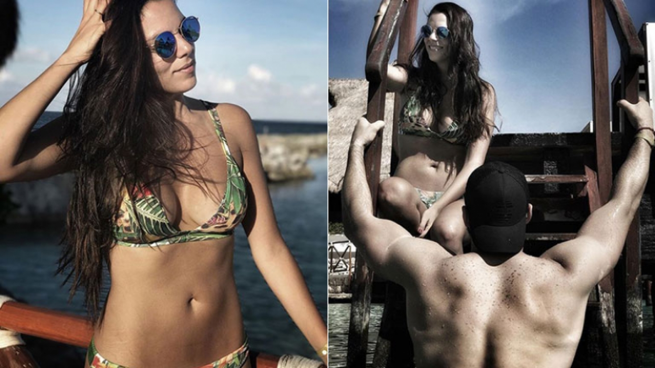 Belu Lucius mostró sus estrías en bikini