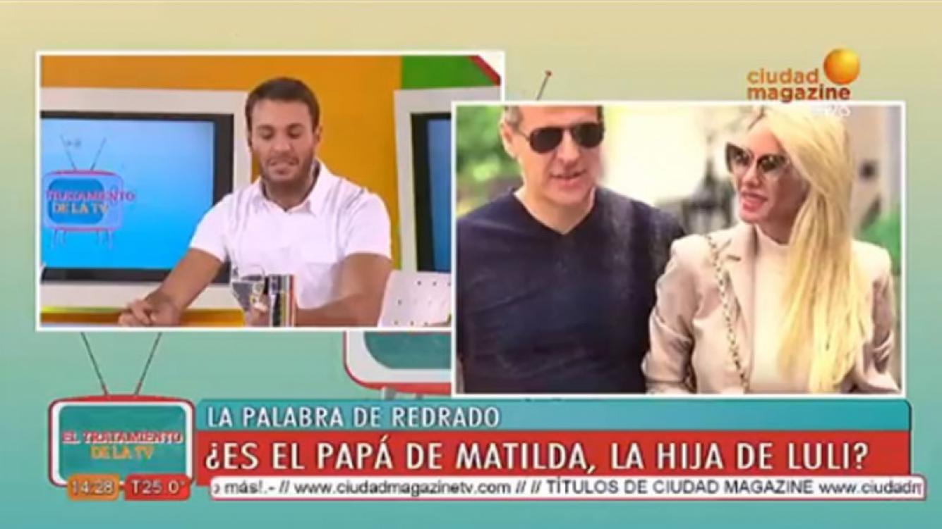 Martín Redrado aseguró que no es el padre de la hija de Luciana Salazar