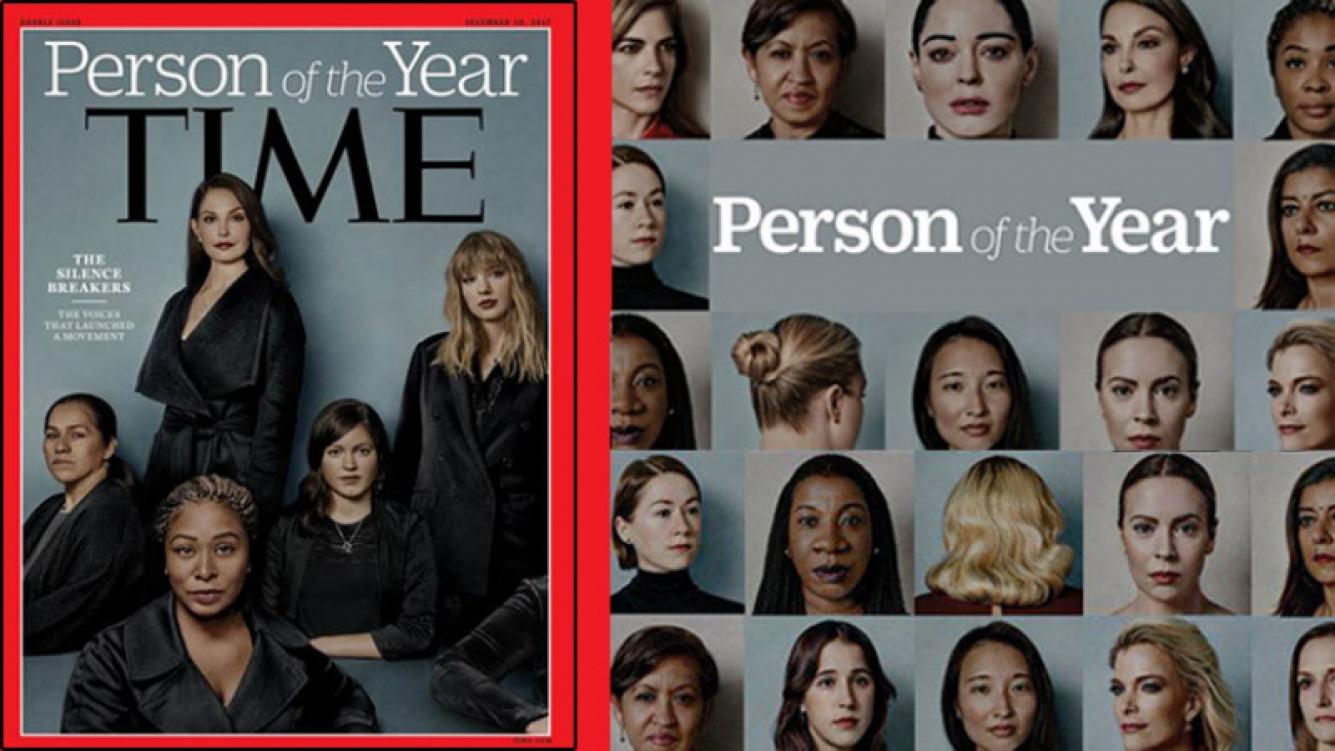 ¡Fuerte tapa! Denunciantes de acoso sexual son la Persona del Año de Time.