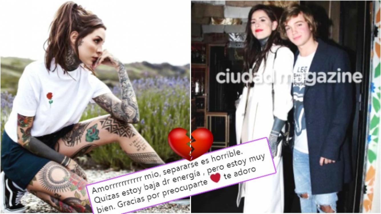 La nostálgica respuesta de Cande Tinelli a una seguidora en Twitter tras cortar con Masini: Separarse es horrible;...