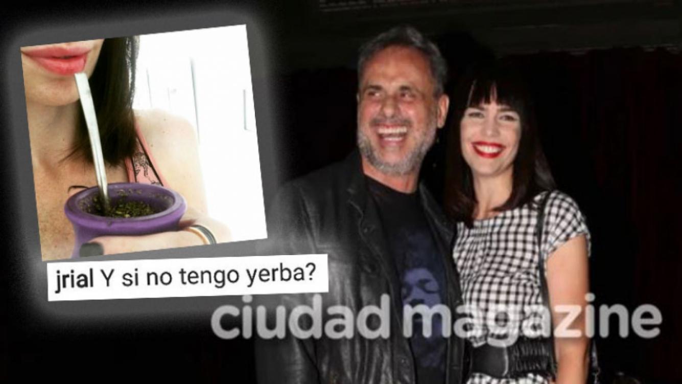 ¡Epa, epa, epa! El pícaro comentario hot de Rial en una foto de Romina Pereiro.