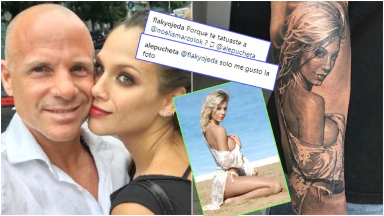 El papá de Barbie Vélez... ¡se tatuó la cara de Noelia Marzol!: Fue solo porque me gustó la foto