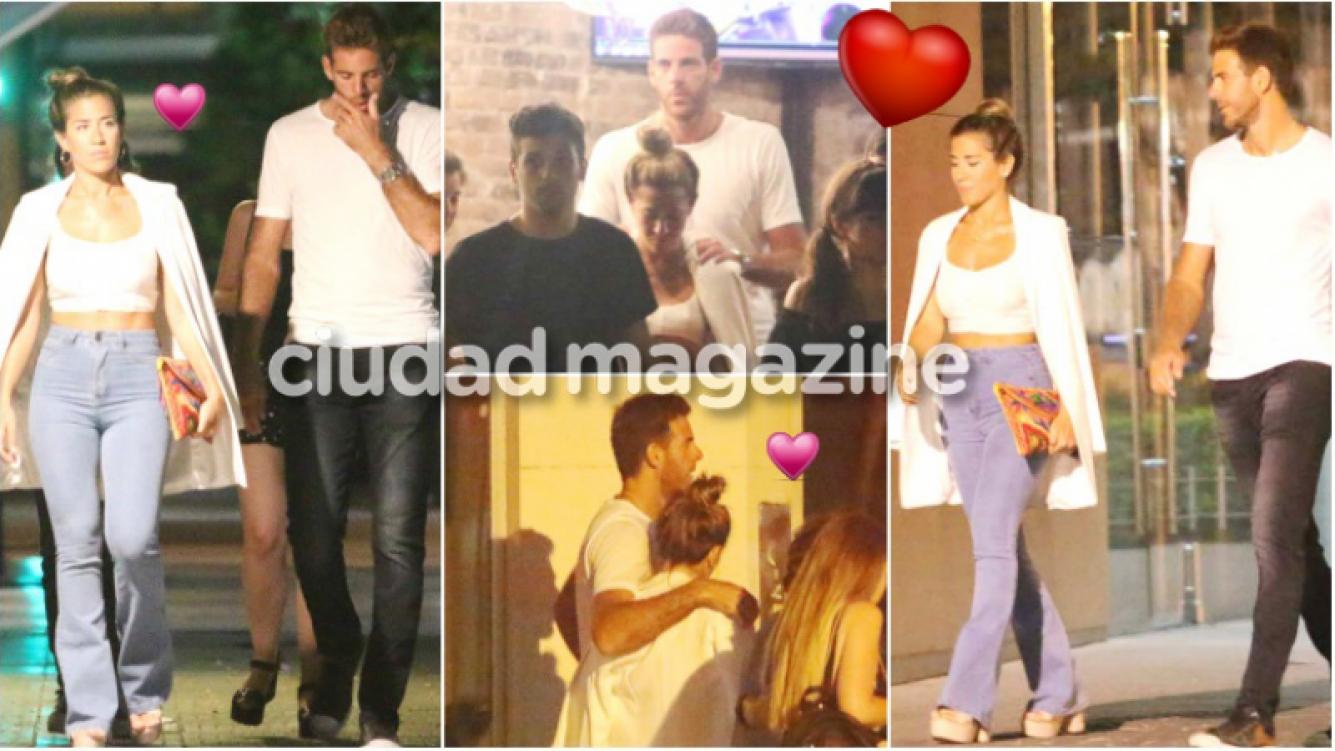 Jimena Barón y Juan Martín del Potro cenaron con amigos en medio del fuerte rumor de infidelidad del tenista