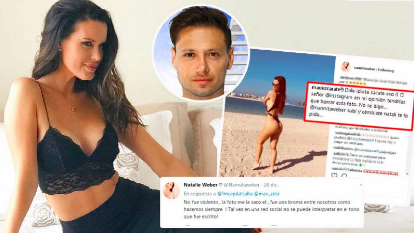 Las fotos de Natalie Weber que enojaron su marido