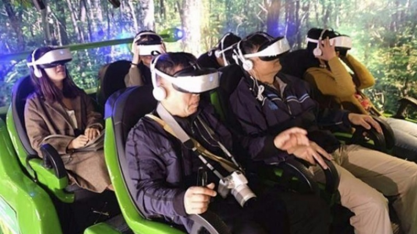 Estrenan un zoológico virtual en China