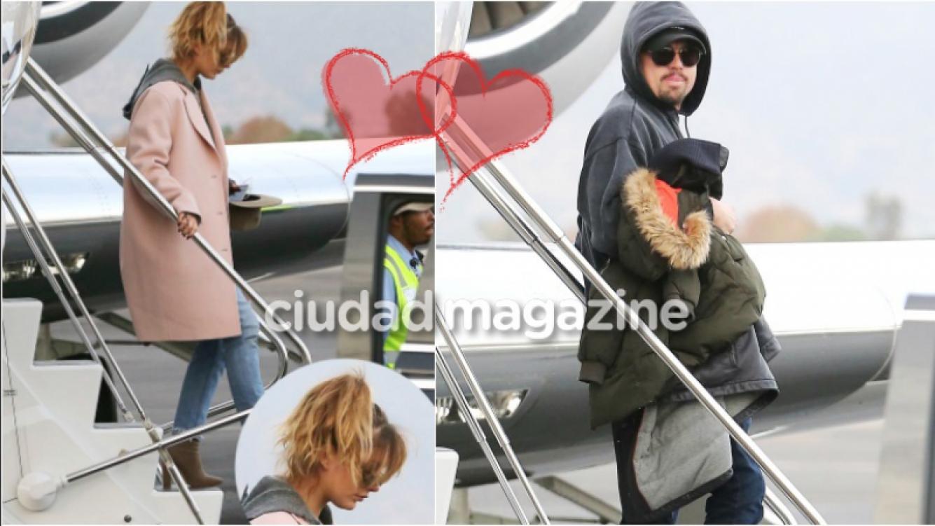Las fotos de Leonardo Di Caprio y su novia, Camila Morrone, en sus vacaciones a Aspen (Fotos: Grosby Group)