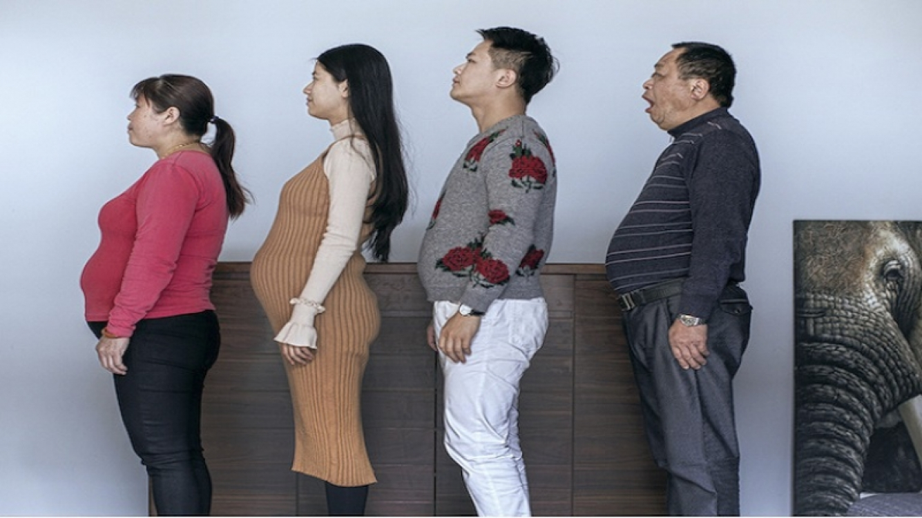 Familia china entrenó durante 6 meses