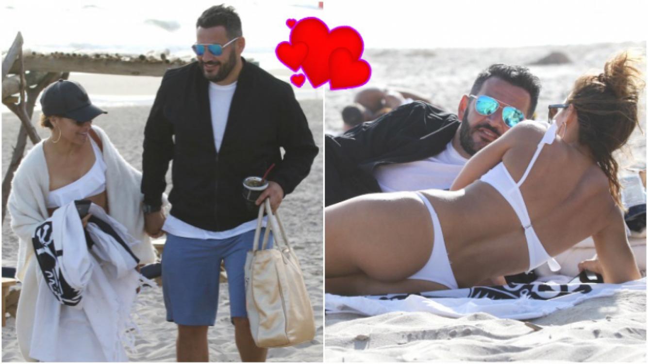Mariana Brey y su novio, muy enamorados en Punta del Este (Fotos: GM Press Punta)
