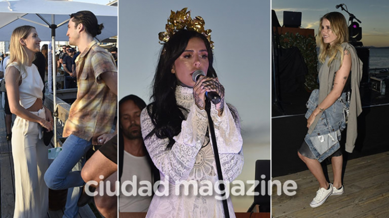 El debut como cantante de Cande Tinelli en Punta del Este ante 400 personas. (Foto: GM Press Punta)