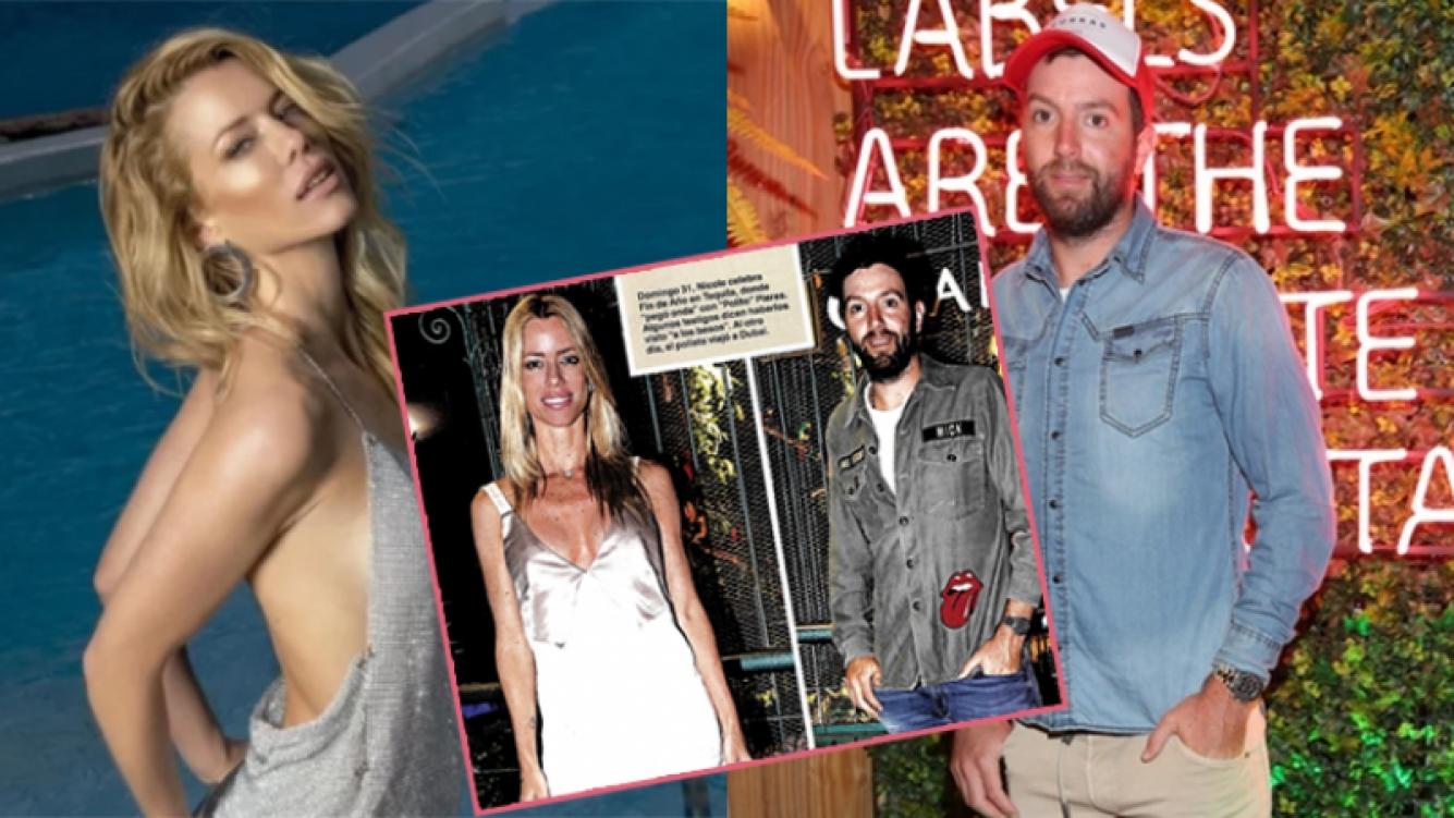 Nicole Neumann y Polito Pieres, muy cerca en la disco Tequila (Fotos: Caras y Web).