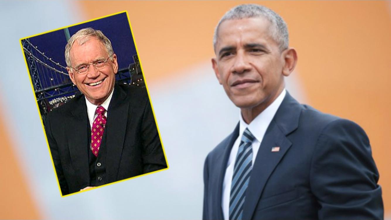 Barack Obama será el primer entrevistado de David Letterman en su programa de Netflix (Foto: Web)