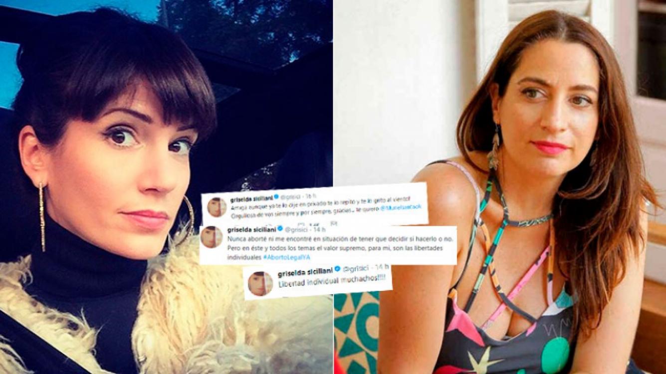 Griselda Siciliani bancó a Muriel Santa Ana tras confesar que abortó