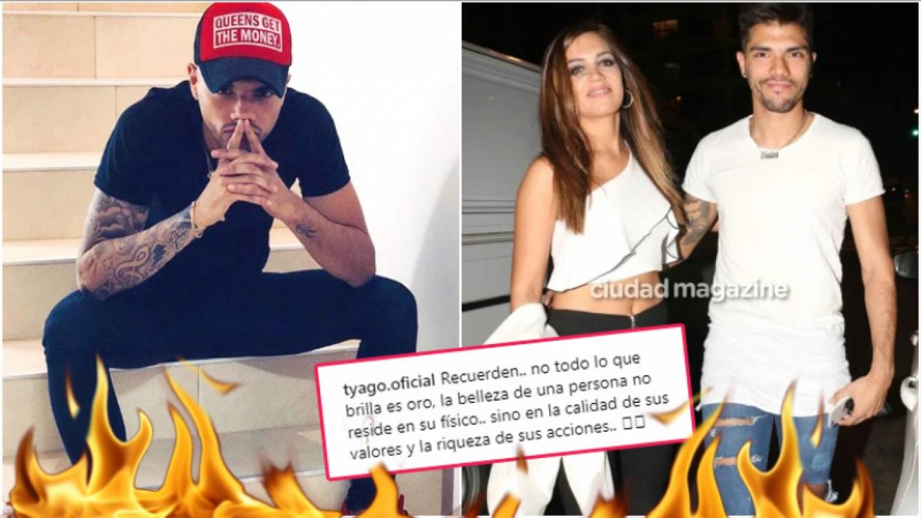 La particular reflexión de Tyago Griffo luego de que Rocío Robles confirmara su separación (Fotos: Instagram y Ciudad Magazine)