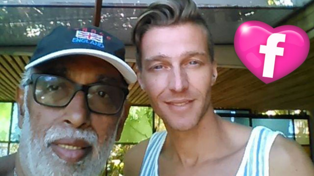 El Negro González Oro publicó una foto junto a su exnovio, Tato Cabrera
