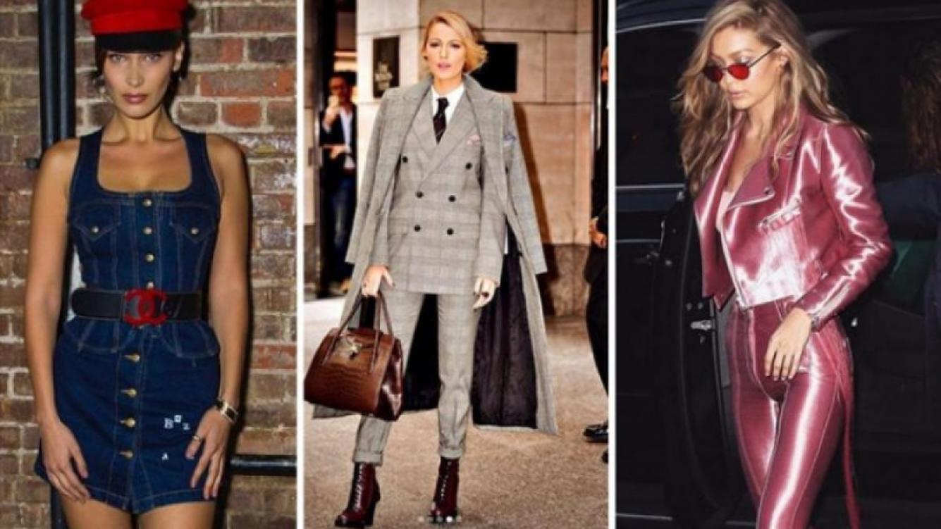 Tendencias de moda que seguirán este año