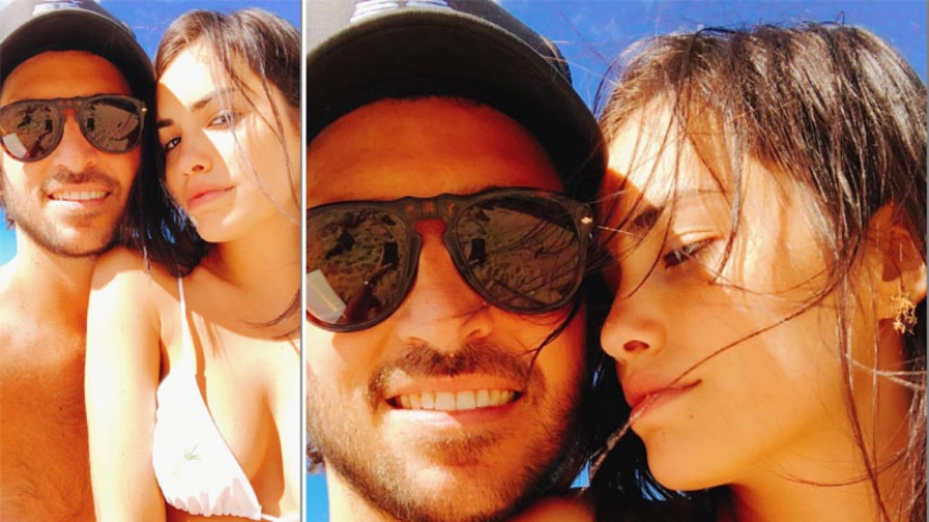 Santiago Mocorrea y Lali Espósito, enamoradísimos a un año de su noviazgo. (Foto: Instagram)