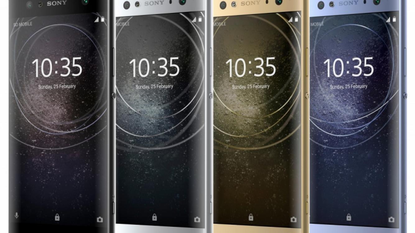 Sony presenta en CES 2018: Xperia XA2, XA2 Ultra y L2