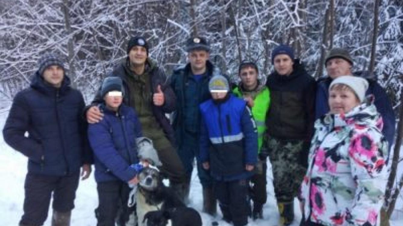 Perros salvaron a dos niños de morir congelados