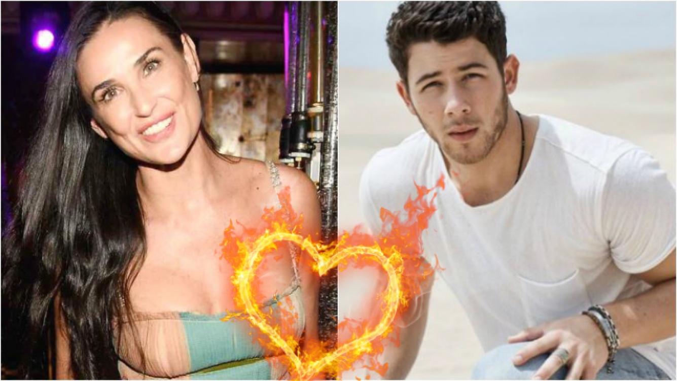 ¿Demi Moore está en pareja con Nick Jonas? Los detalles del rumor bomba