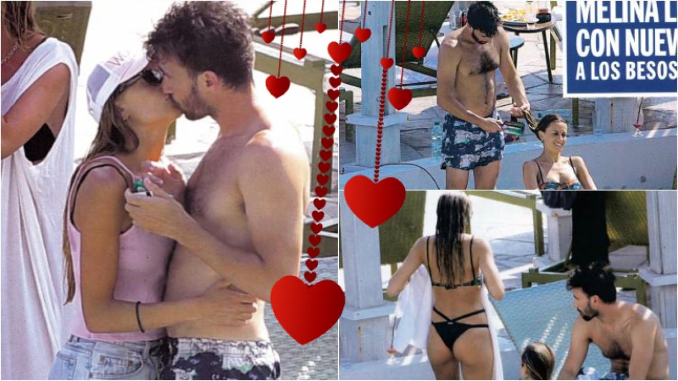 Melina Lezcano y su nuevo novio, infraganti a los besos en Punta: Todavía no somos novios
