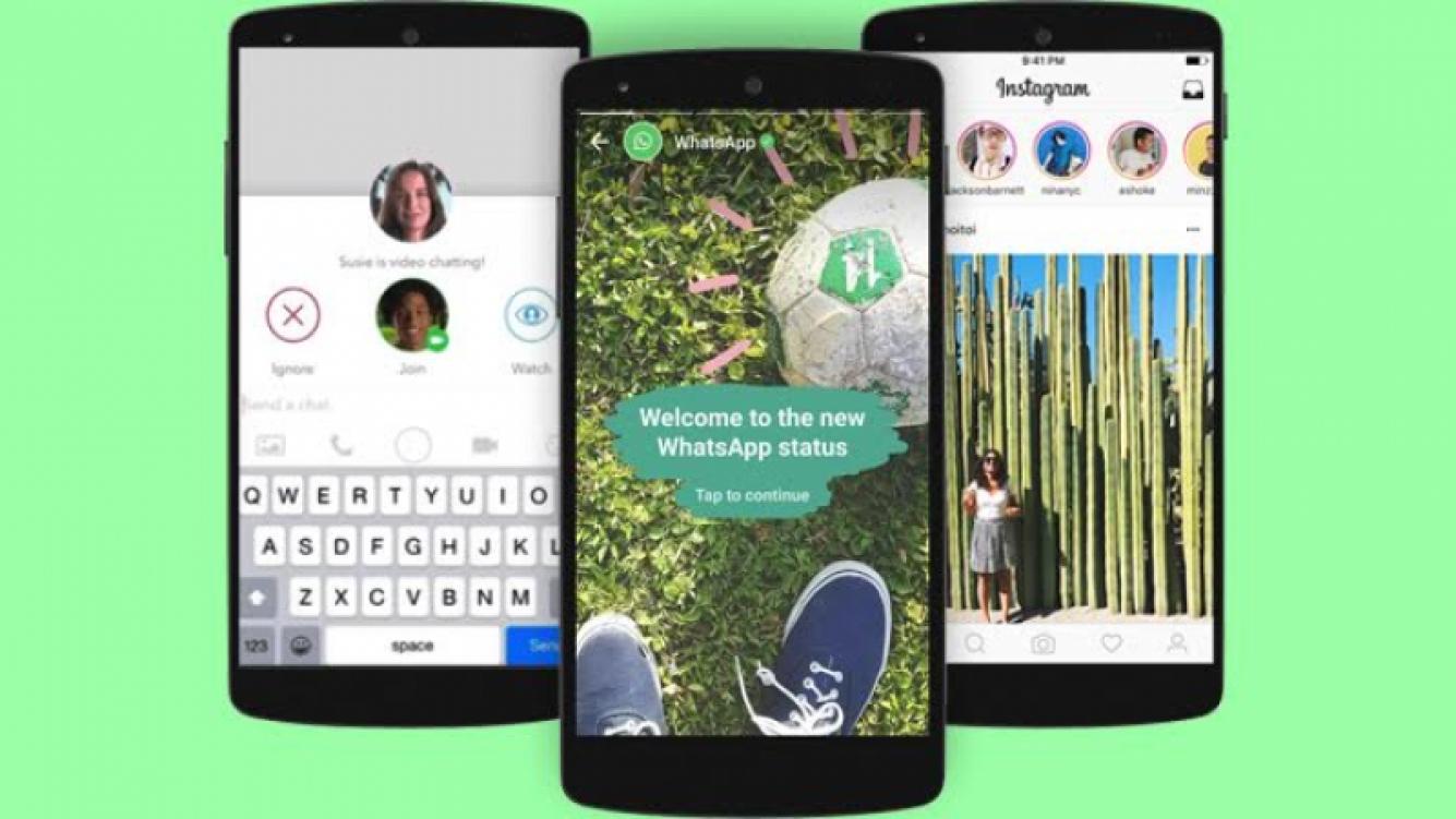 ¿Instagram y WhatsApp en una sola storie?