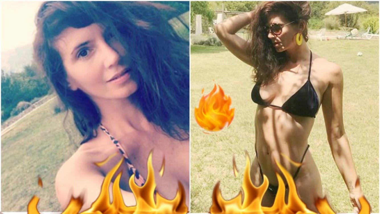 La foto súper sexy de Griselda Siciliani en microbikini (Fotos: Instagram)