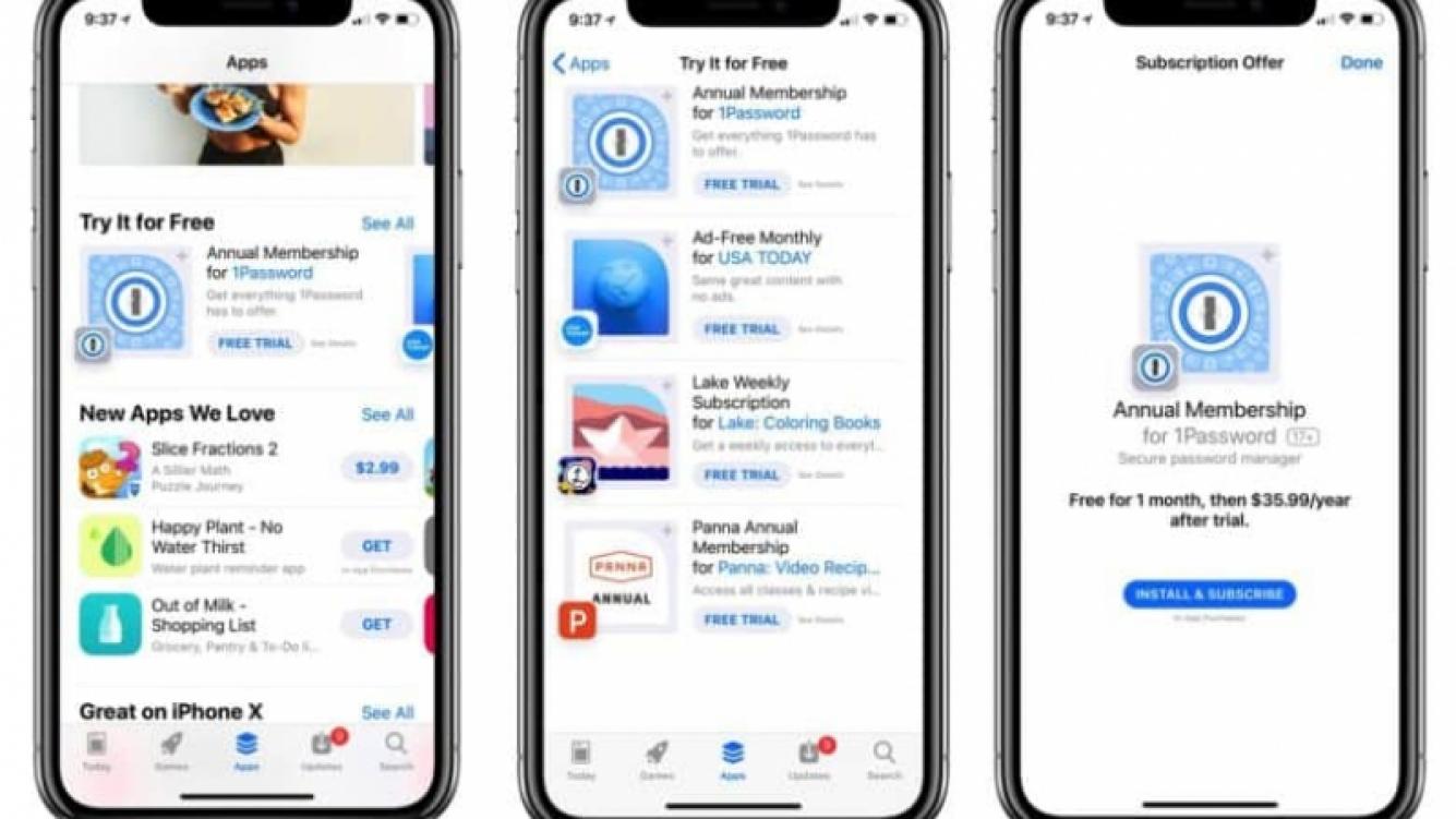 En App Store ahora se puede probar antes de comprar