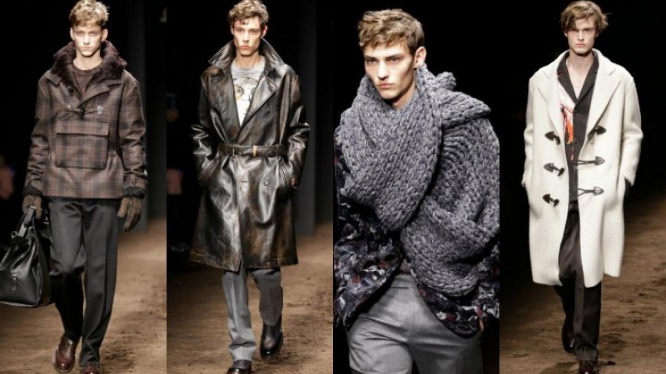 Semana de la Moda Masculina de Milán también presentó prendas femenina