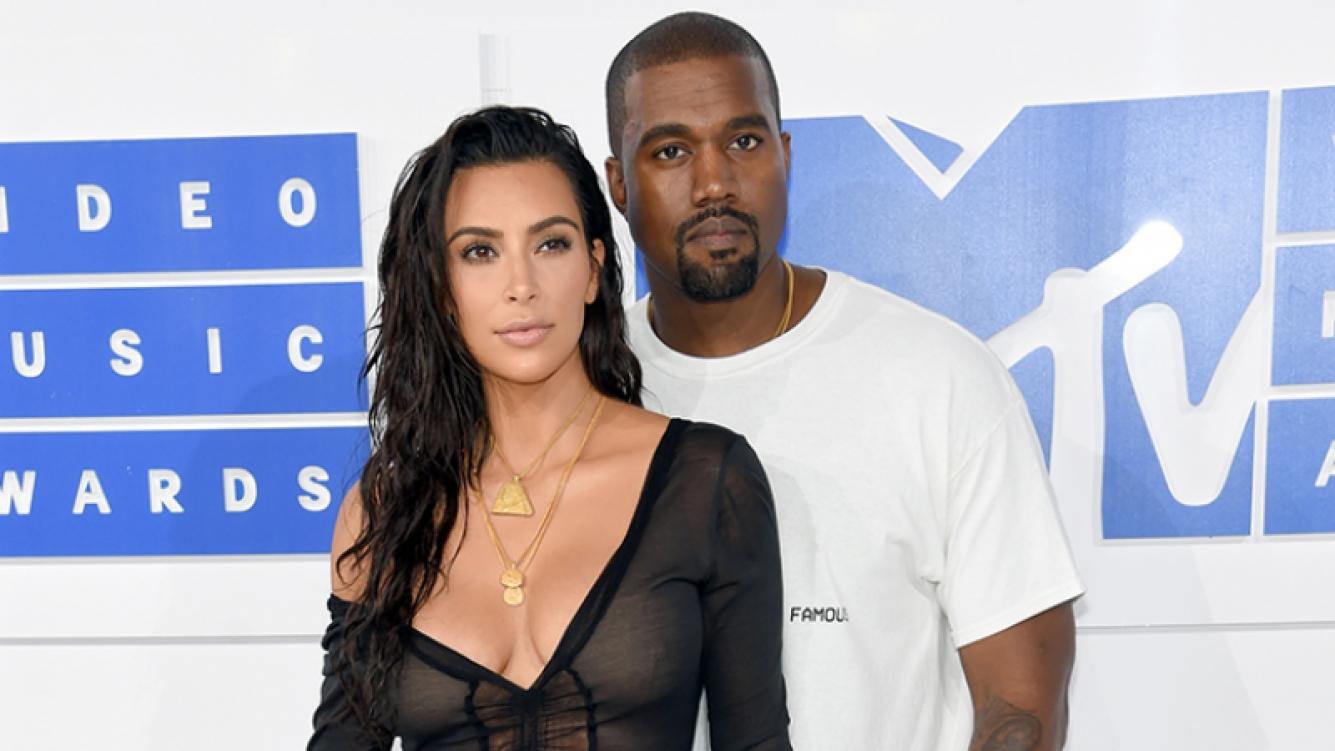 Kim Kardashian y Kanye West recibieron a su tercer hijo (Fotos: AFP).