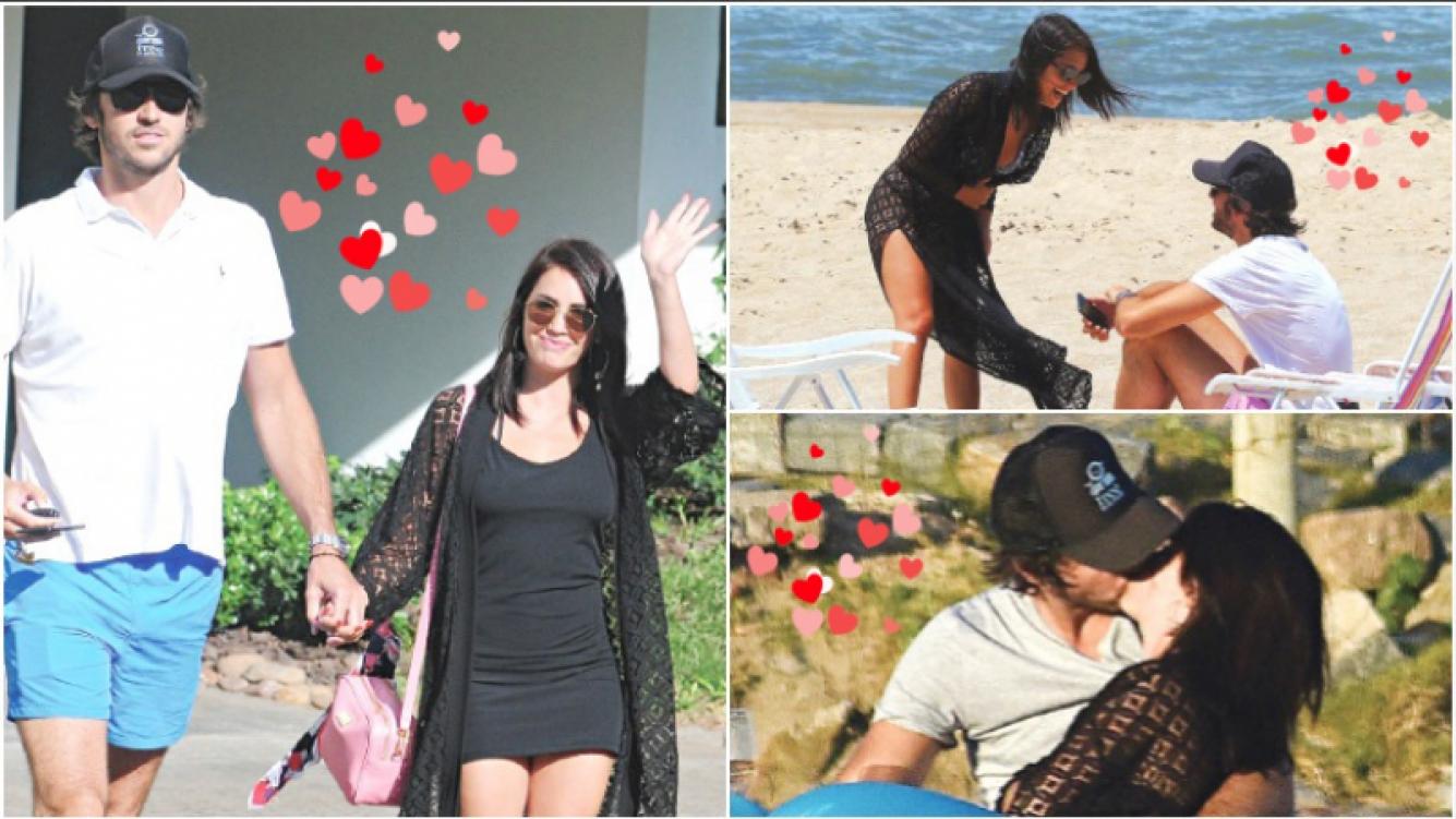 Lali Espósito y Santiago Mocorrea, enamorados en Punta del Este. (Fotos: Pronto)