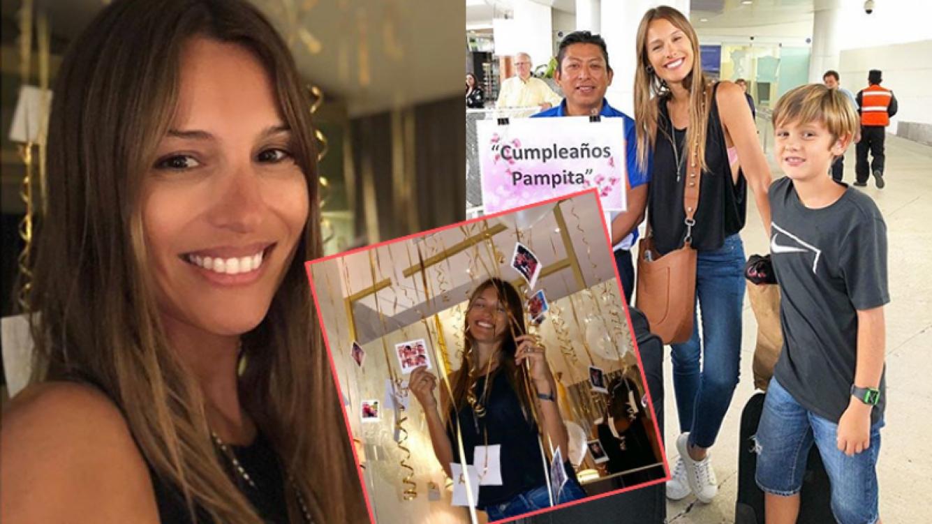 Pampita y su inolvidable llegada a Playa del Carmen.