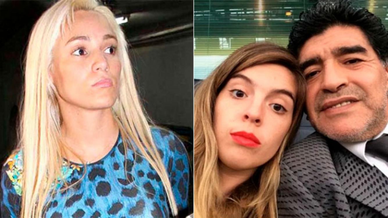 Rocío Oliva, tras la polémica decisión de Maradona de no ir al casamiento de Dalma