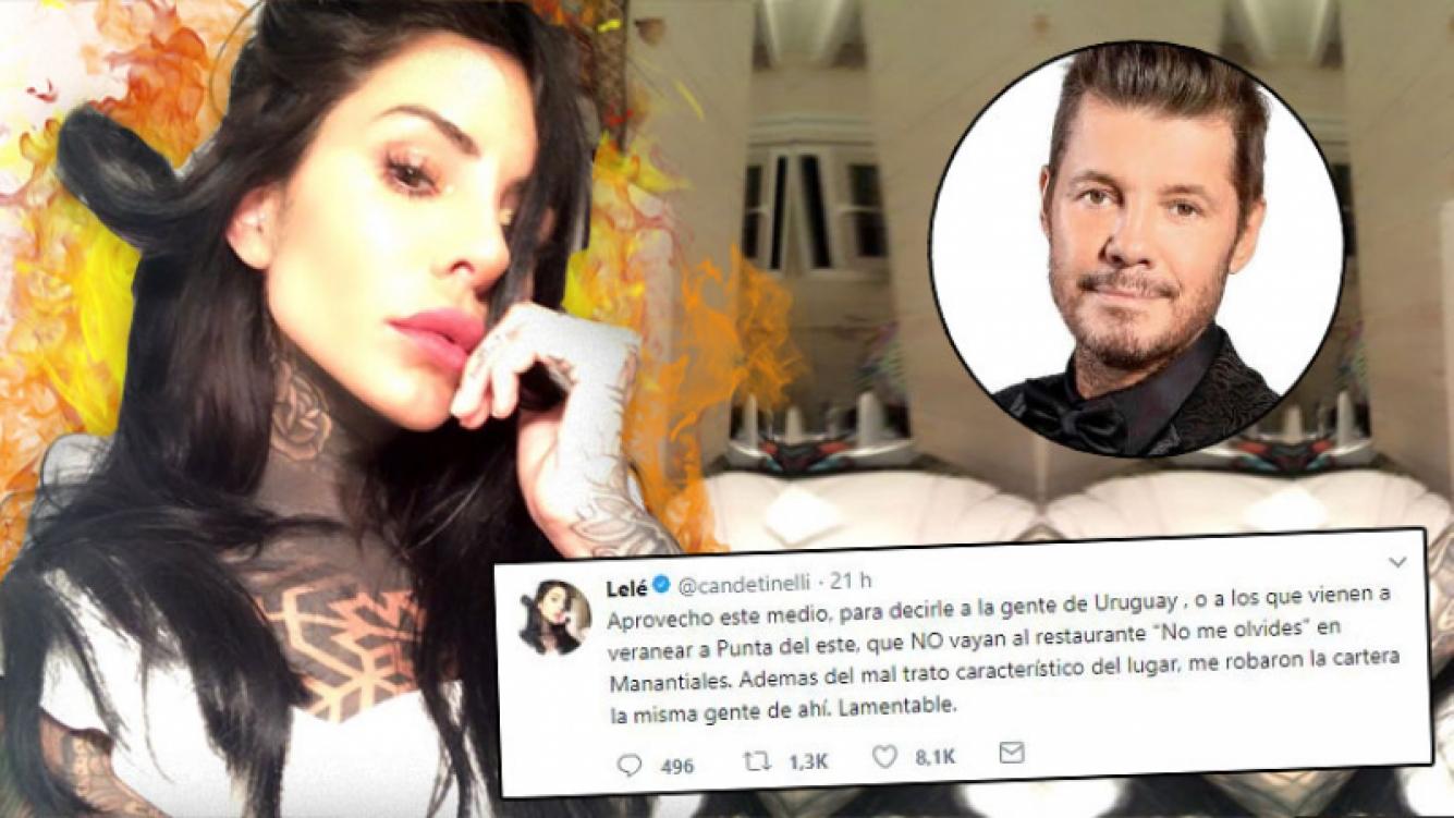 Cande Tinelli, víctima de un robo en Punta del Este: picantes mensajes en las redes y el apoyo de Marcelo