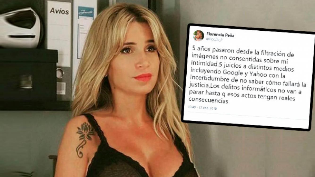 Flor Peña, a cinco años de la filtración de su video hot: Los delitos informáticos no van a parar hasta que esos...