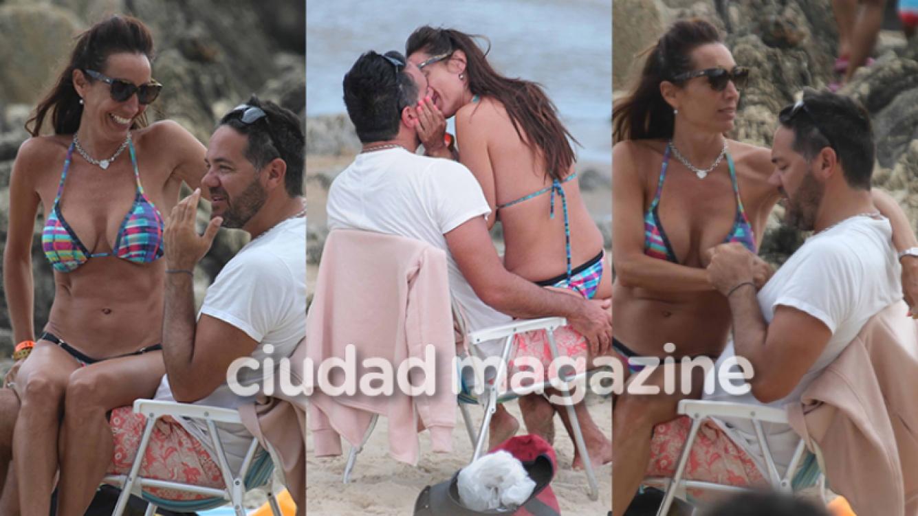 Mora Godoy, enamorada de su nuevo novio (GM Press Punta del Este).