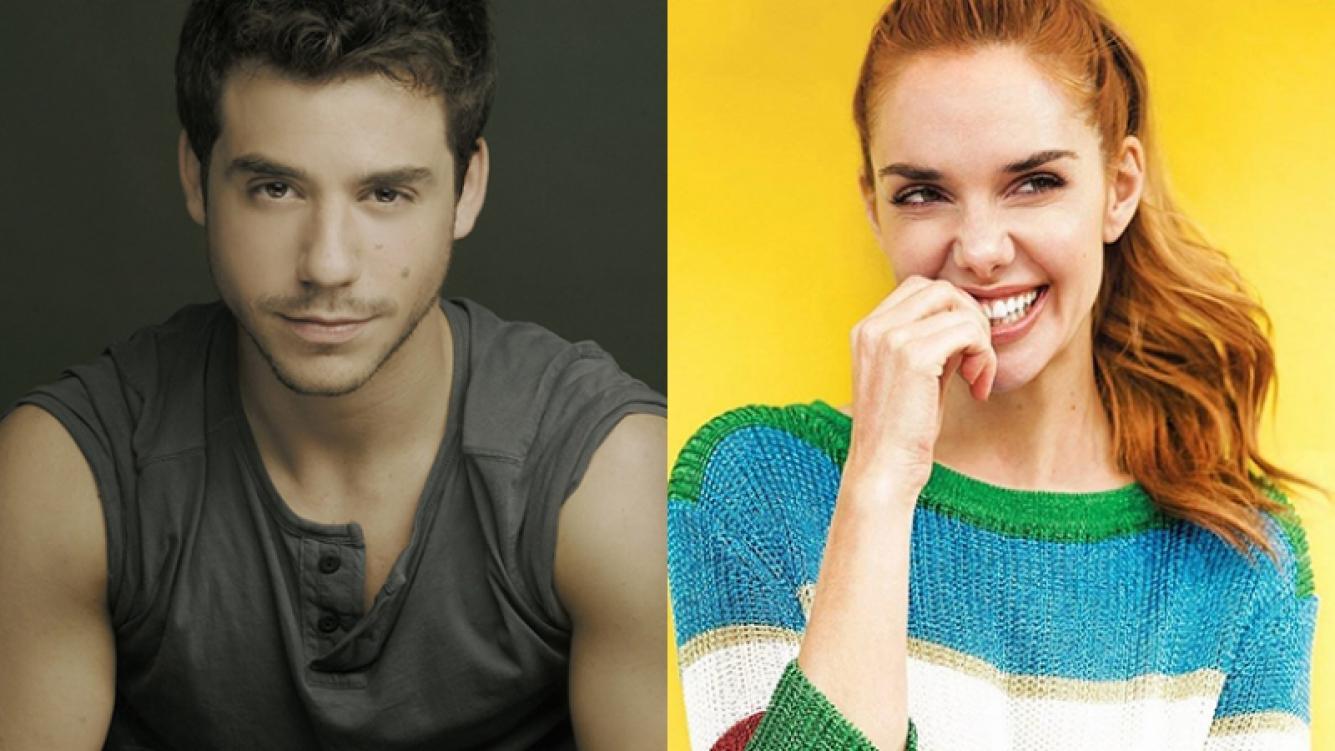 """Fernando Dente y Julieta Nair Calvo, juntos en """"Aladín, será genial""""."""
