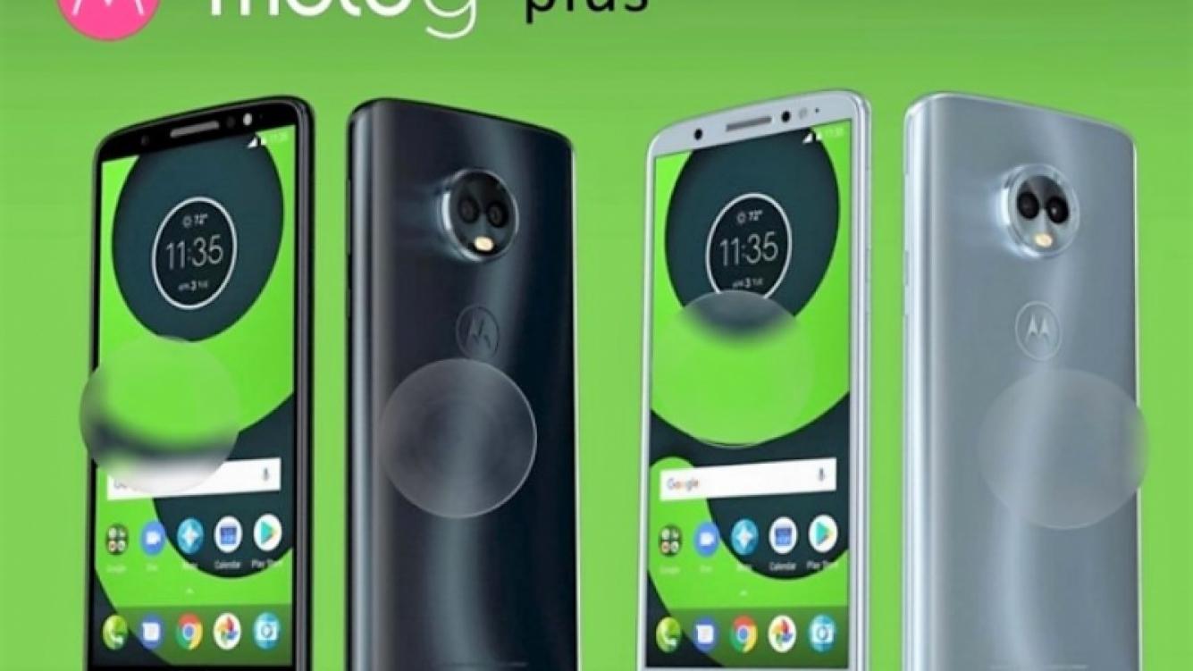 Anticiparon características de Moto G6, G6 Plus y G6 Play