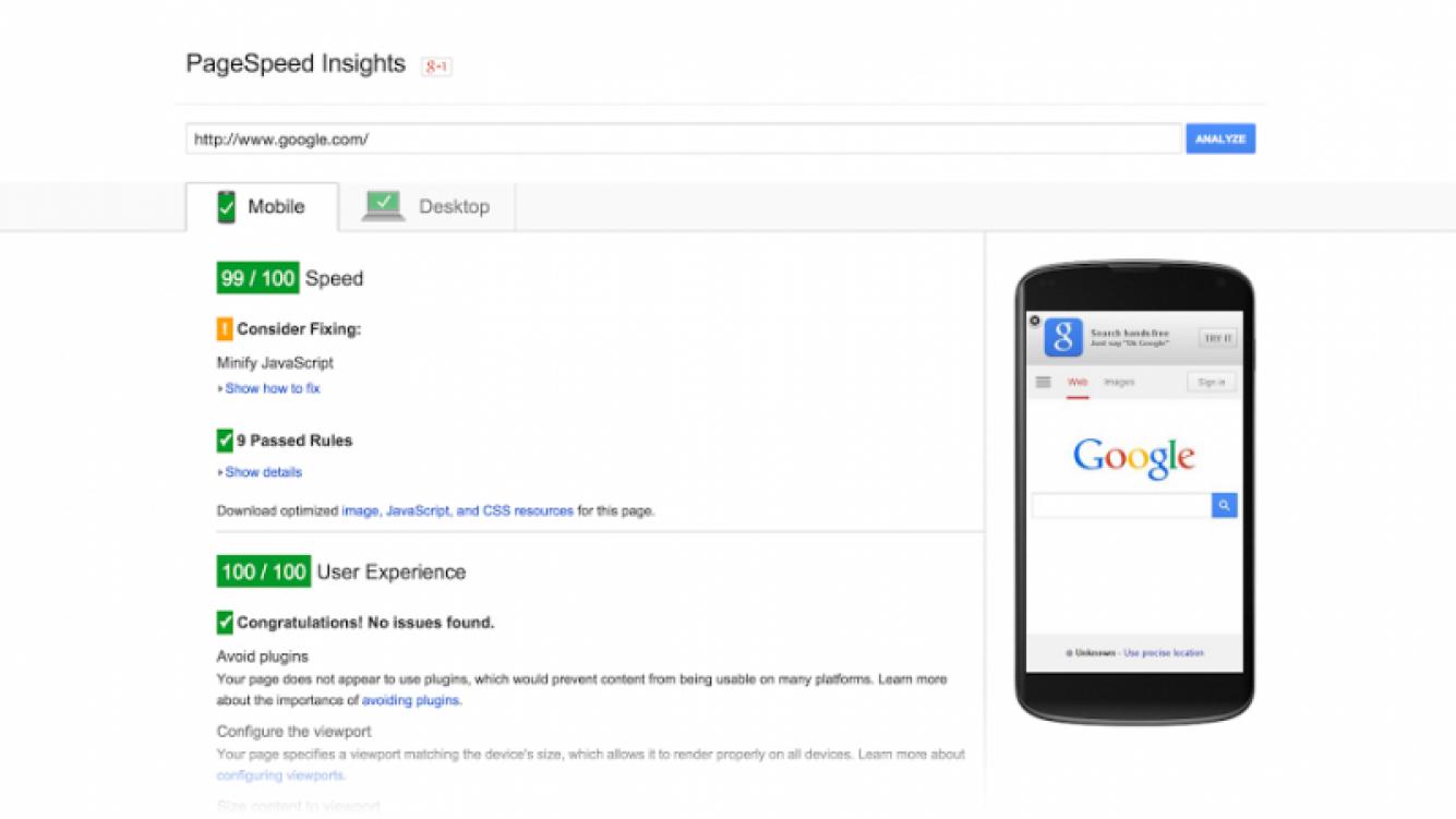 Google organizará las búsquedas móviles