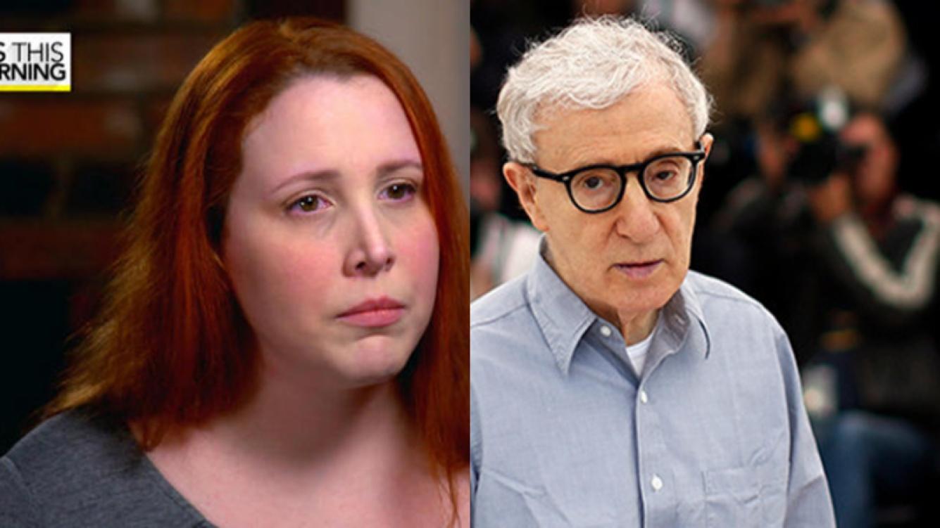 Dylan Farrow reafirmó su denuncia de abuso sexual contra Woody Allen