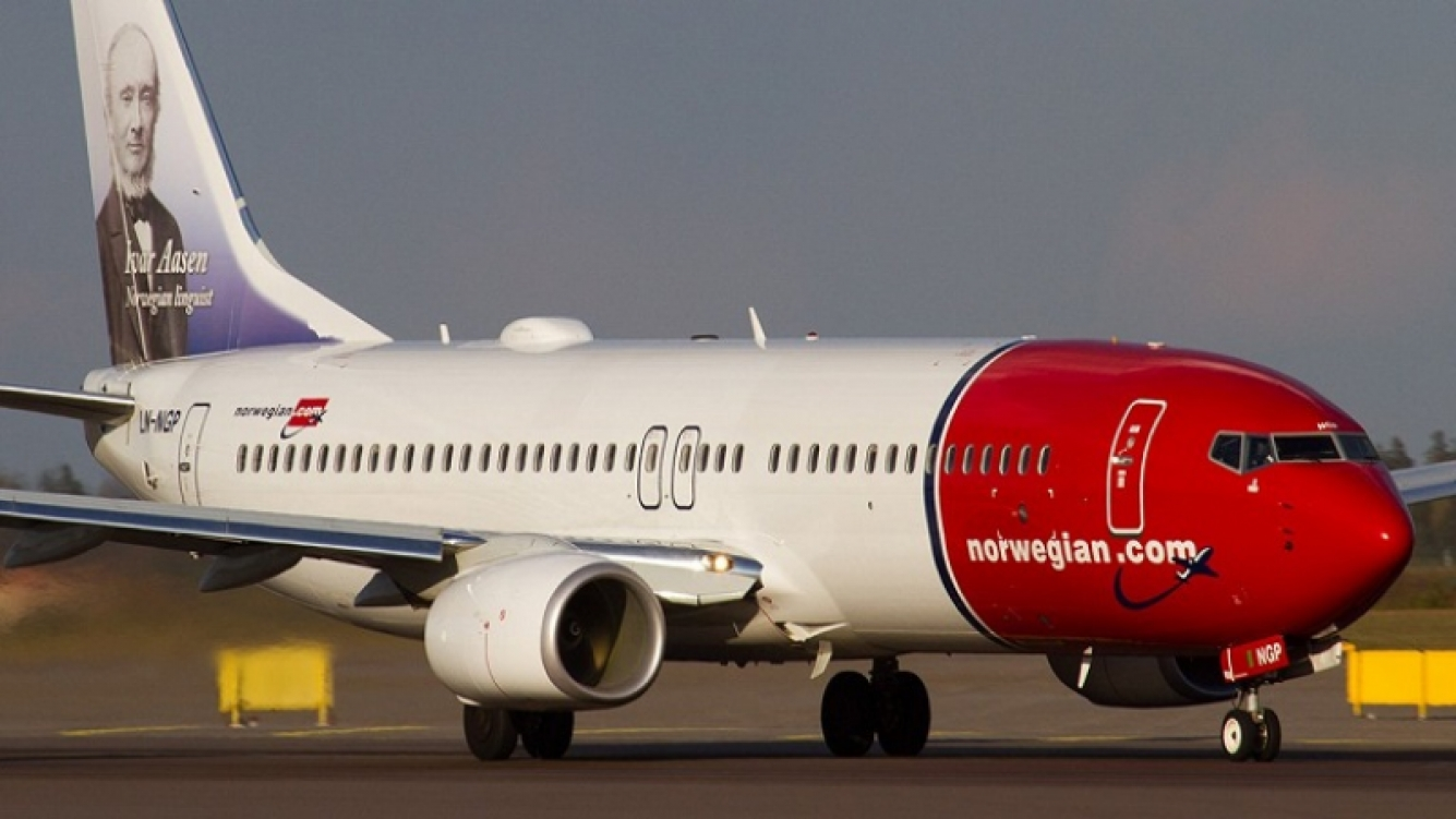 Norwegian realizó el vuelo transatlántico más rápido de la historia