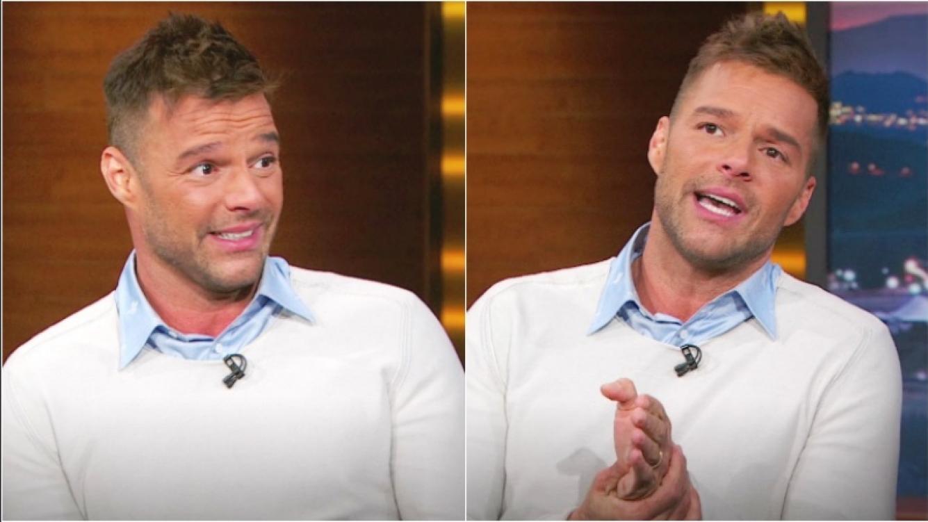 Ricky Martin y el tiempo que le llevó confesar su homosexualidad (Fotos: Captura)