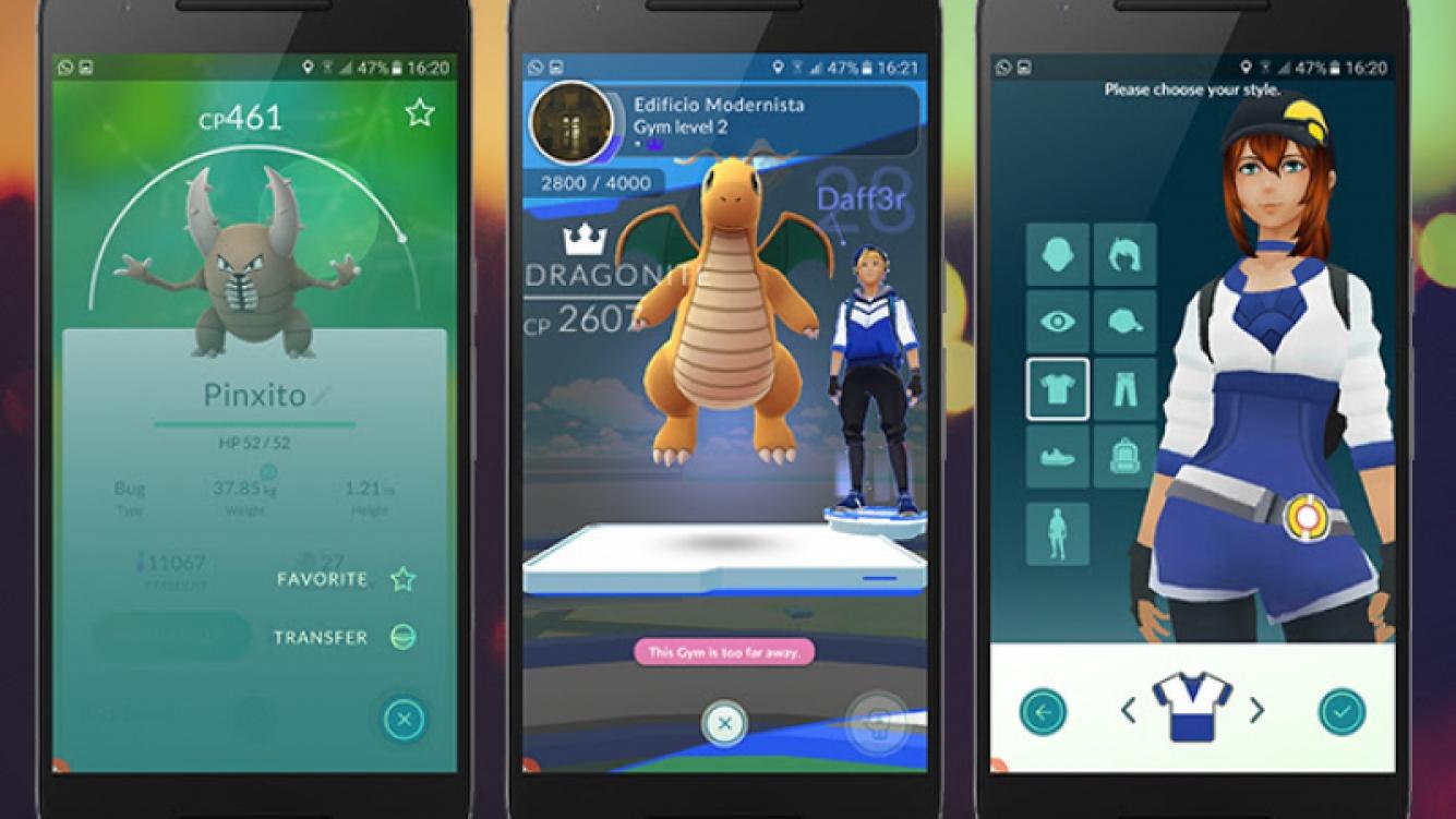 Niantic actualizó Pokémon GO para iOS y Android