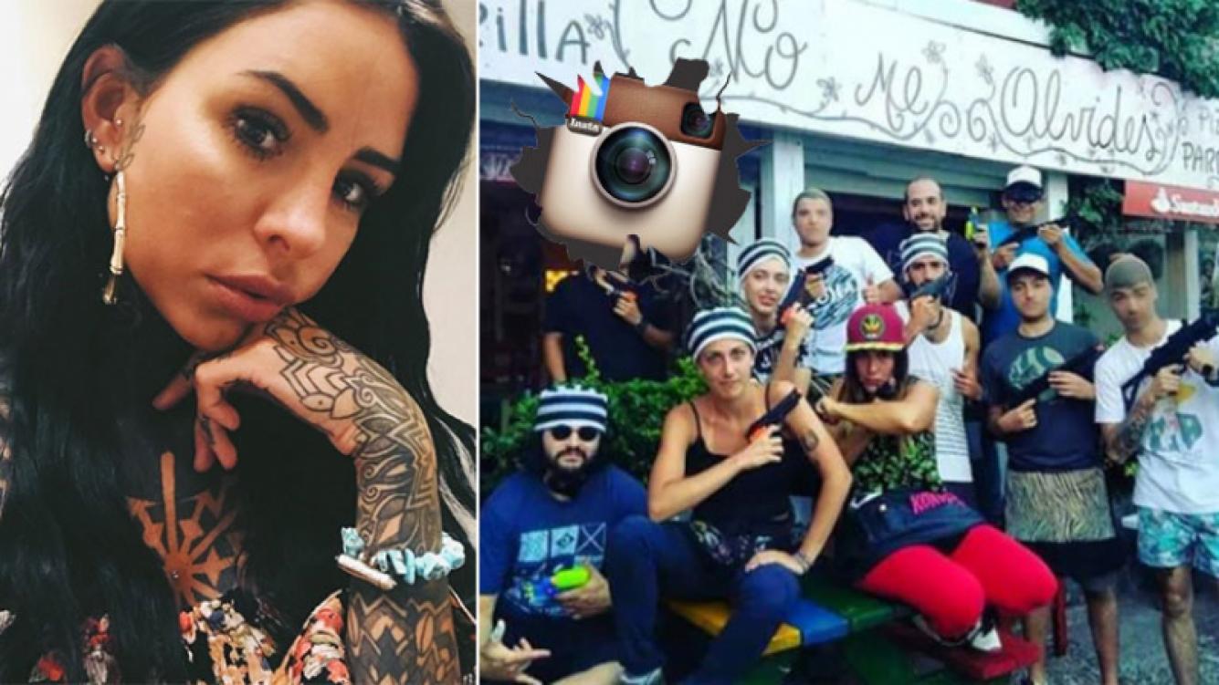 Picante respuesta ¡con foto! de los mozos del bar donde le robaron a Cande Tinelli: Se roban carteras, vengan de a...