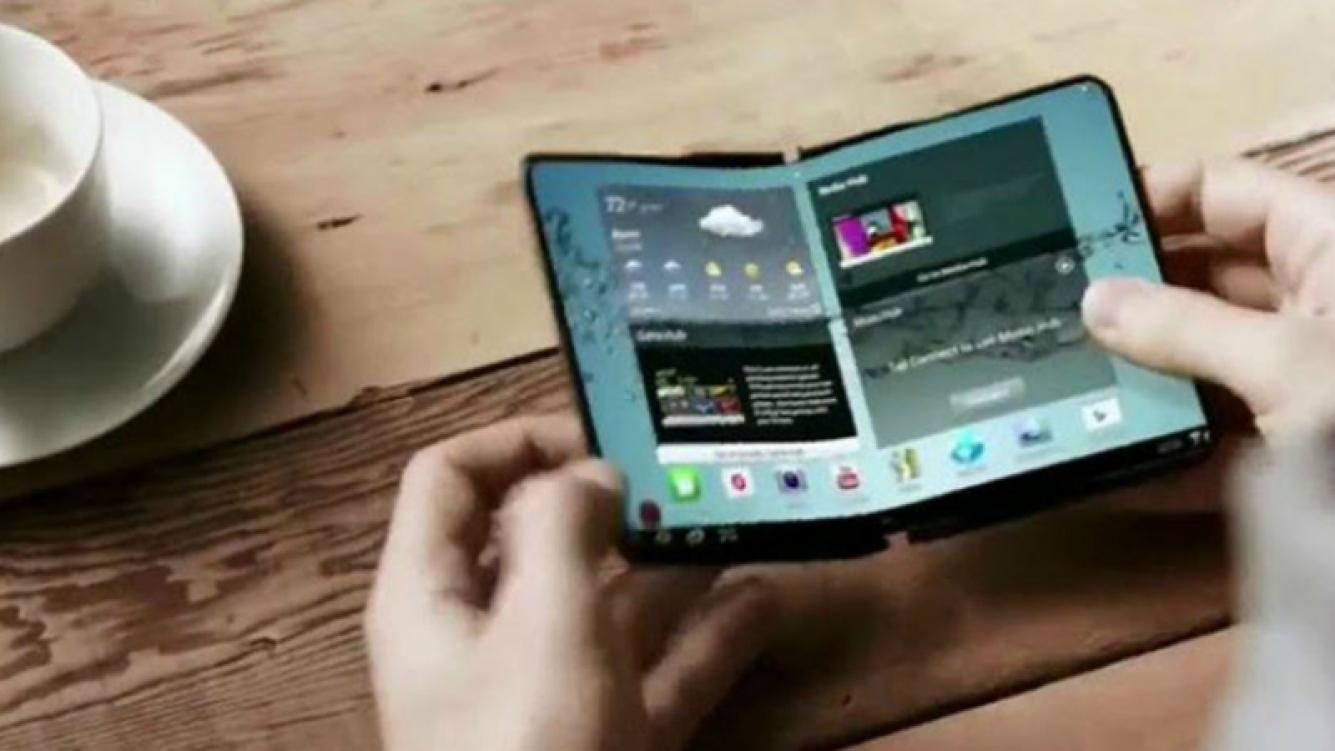 LG trabaja en un smartphone plegable